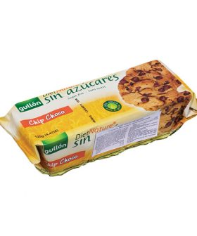 Cookies chocolate chip Gullon, sugar free, 150g