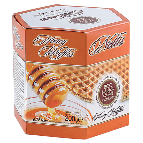 Honey Waffles Nelis, 200g