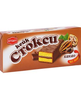 "Cake Cacao, without sugar, ""Stoxy"", 180g"