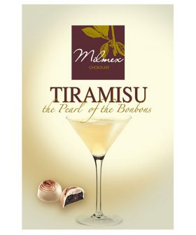 "Chocolate candy ""Tiramisu - Milmex"", 130g"