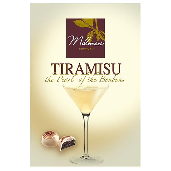"Chocolate candy ""Tiramisu - Milmex"", 130g"