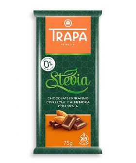 Chocolate-trapa-milk-with-almonds-and-stevia-75g