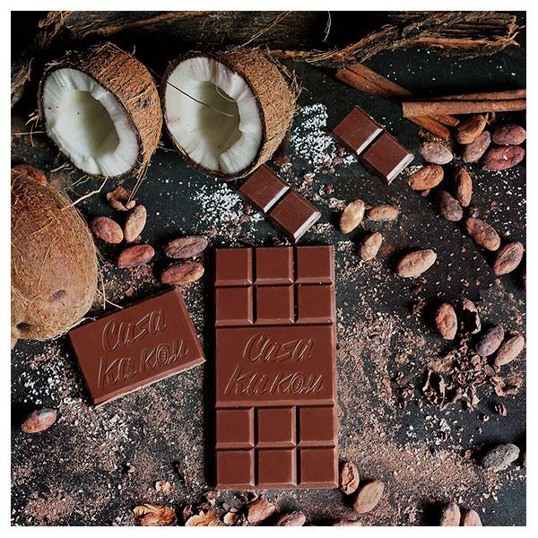 Ruchen-naturalen-shokolad-Original-Coconut-Casa-Kakau-80g