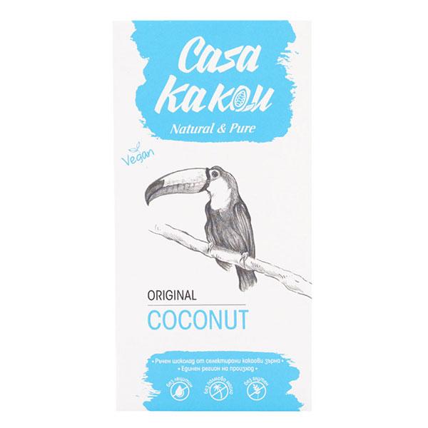Ruchen-naturalen-shokolad-Original-Coconut-Casa-Kakau-80gr