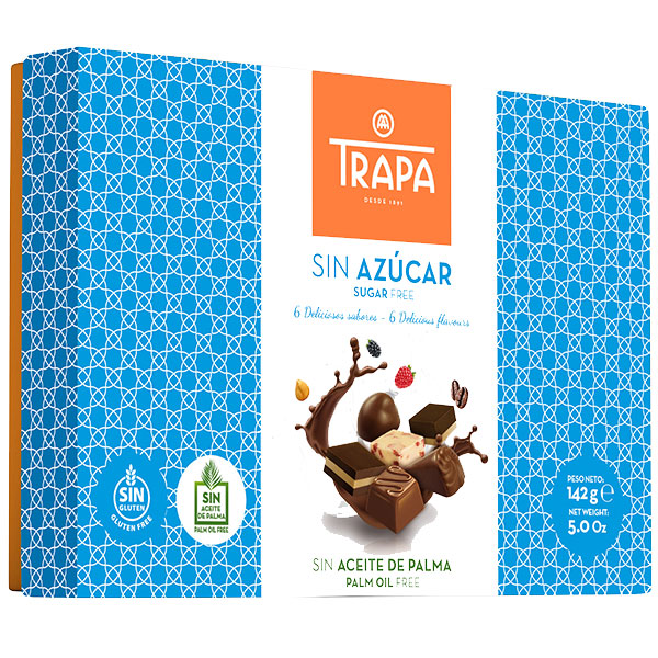 Chocolates-without-sugar-trapa-142g