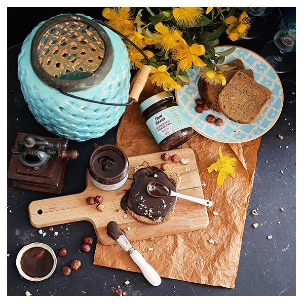 """Лешников крем с какаови зърна, занаятчийски, """"Casa Kakau"""", 200гр"""