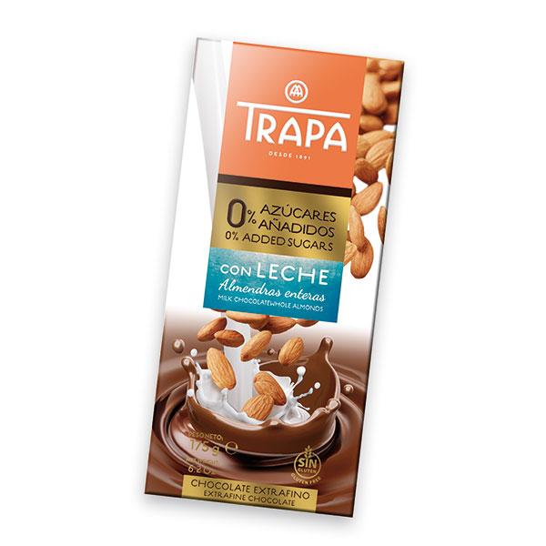 Mlechen-shokolad-s-bademi-bez-zahar-Intenzo-175gr
