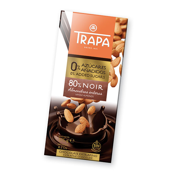 Natural-chocolate-80-percent-cocoa-with-almonds-sugar-free-intenzo-175g