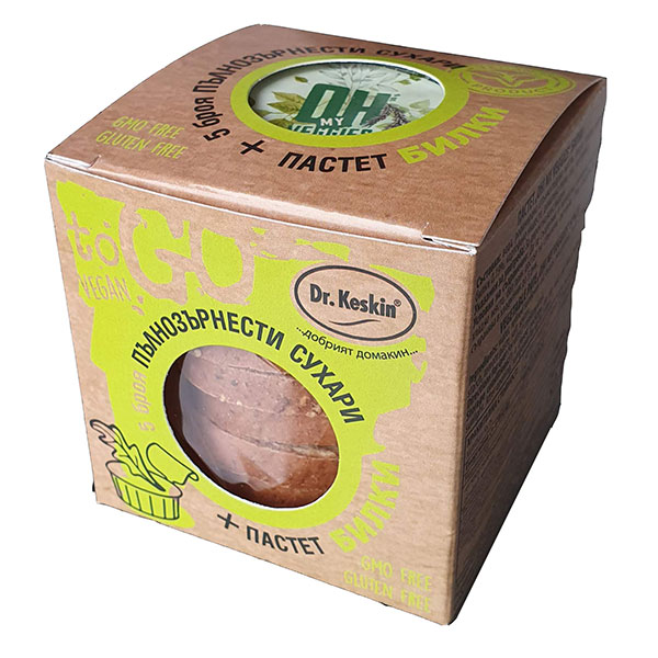 Paket-pylnozyrnesti-sukhari-i-pastet-bilki-Vegan-To-Go,-120g