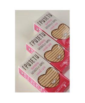 """Обикновени бисквити от лимец и кленов сироп, """"Гризети"""" 3 опаковки"""