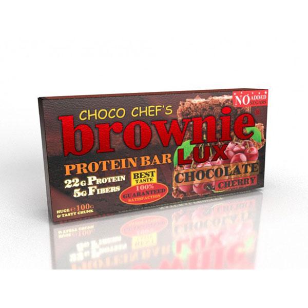 """Протеинов бар, Череша и шоколад, """"Брауни"""", 100гр"""