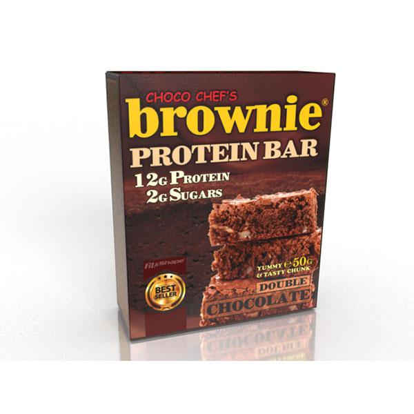 """Протеинов бар, Двоен шоколад, """"Брауни"""""""