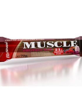"""Протеинов бар, Горски плод и крисп, """"Muscle bar"""""""