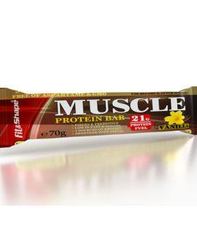 "Протеинов бар, Ванилия и крисп, ""Muscle bar"""