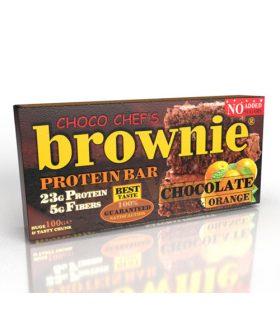 """Протеинов бар, Портокал и шоколад, """"Брауни"""", 100гр"""
