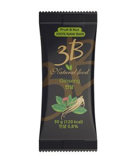 "Raw bar, Ginseng, natural, ""3В"", 30g"
