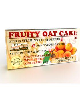 Протеинов овесен кейк, Кайсии и семена, 80г