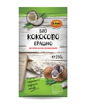 """БИО Кокосово брашно """"Д-р Кескин"""", 250гр, без глутен"""