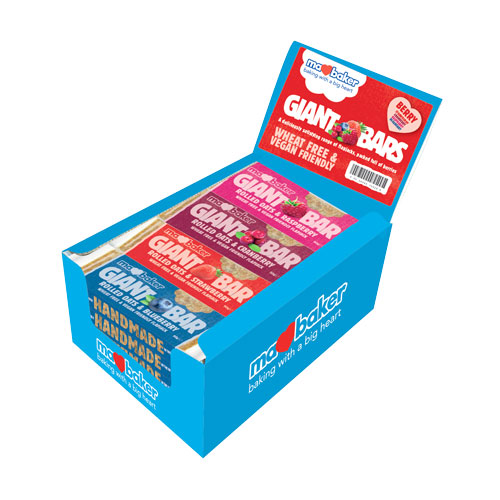 """Energy oatmeal cake """"Ma Baker"""", cranberries, 90g, mix of 20 pieces in a box"""