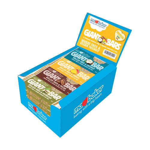 "Energy oatmeal cake ""Ma Baker"", coconut, 90g, mix of 20 pieces in a box"