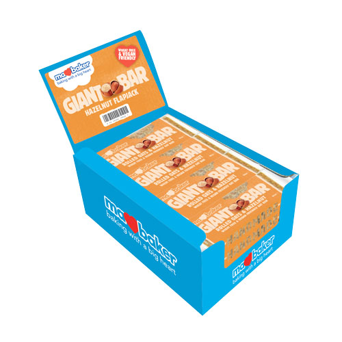 "Energy oatmeal cake ""Ma Baker"", hazelnut, 90g, box of 20 pieces"