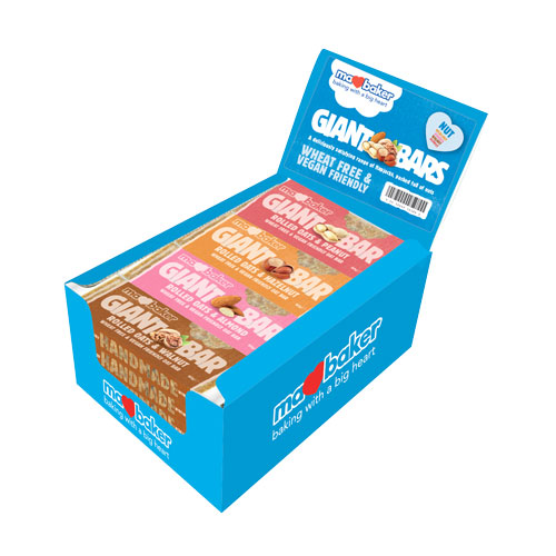 "Energy oatmeal cake ""Ma Baker"", hazelnut, 90g, mix of 20 pieces in a box"