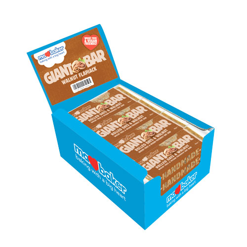 "Energy oatmeal cake ""Ma Baker"", walnut, 90g, box of 20 pieces"