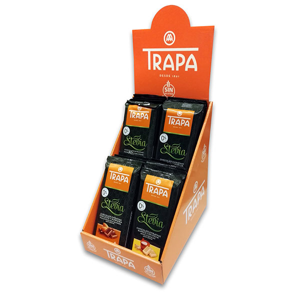 chocolate-trapa-with-stevia-4-x-75g