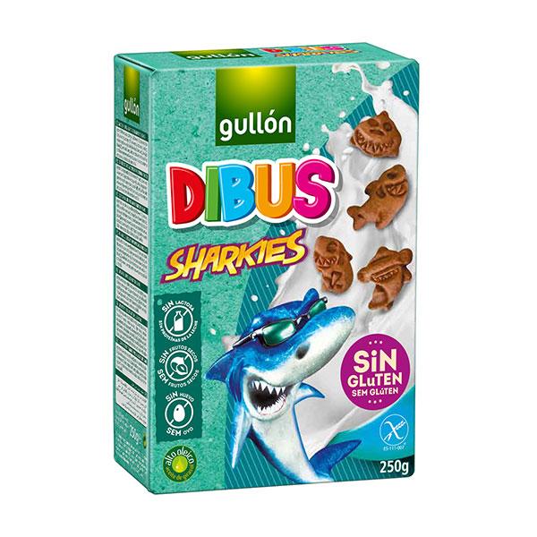 "Бисквити Шаркис с какао, без глутен, ""Gullon"""