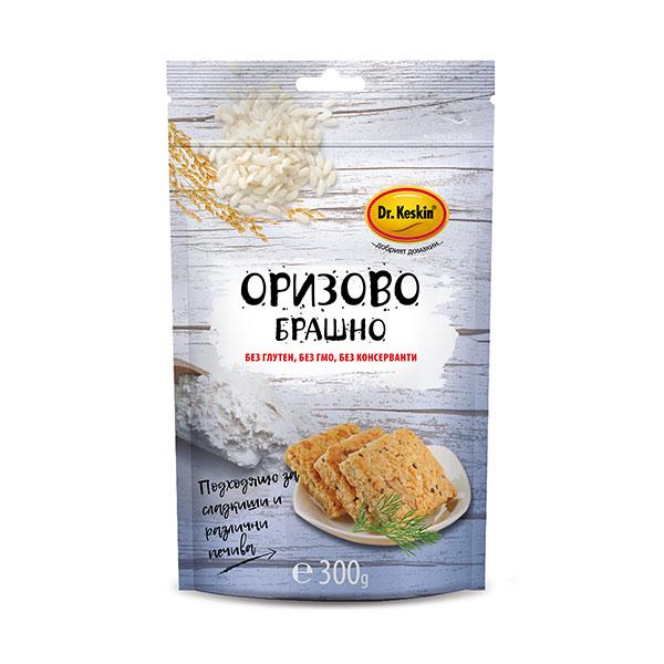 """Оризово брашно, без глутен, """"Д-р Кескин"""", 300гр"""