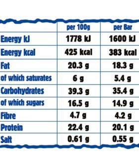 Nutrition-chart-protein-flapjack-ma-baker-peanut-butter-20g-protein