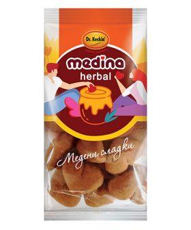 """Медени сладки сърца, без захар, Медина, """"Д-р Кескин"""", 120гр"""