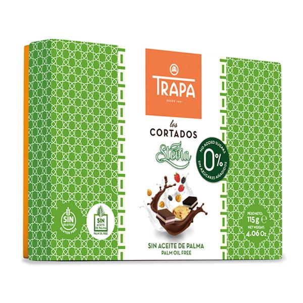 """Шоколадови бонбони със стевия """"Трапа"""", 115гр"""