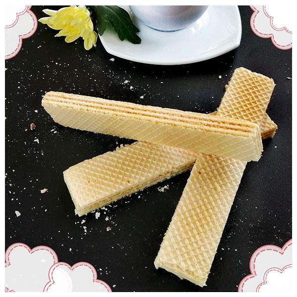 """Вафли с ефирен ванилов вкус, без захар, """"Стокси"""", 150гр"""