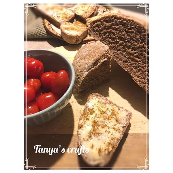 """Пшенично-ръжен хляб с квас и кедрови ядки """"Д-р Кескин"""""""