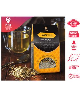 "Слабителен чай ""Lax Tea"", Витал Консепт, 100гр."