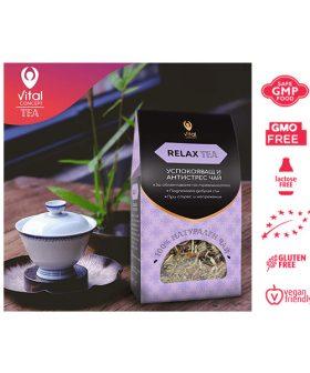 "Успокояващ и антистрес чай ""Relax Tea"", Витал Консепт, 100гр."